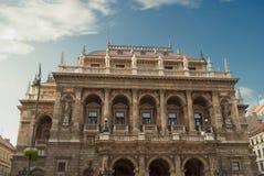 Węgierska stan opera w Budapest Zdjęcia Royalty Free