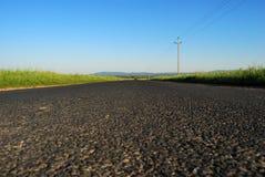 Węgierska wsi droga Zdjęcia Royalty Free