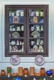 Węgierski handmade ceramics w wiosce Tihany Zdjęcia Stock