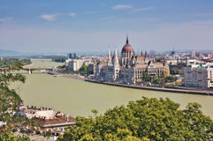 Węgierski Parlament fotografia stock