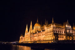 Węgierski parlament Obraz Royalty Free