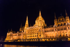 Węgierski parlament Zdjęcie Stock