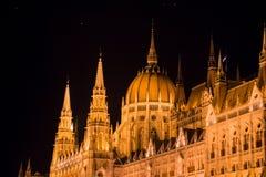 Węgierski parlament Obrazy Royalty Free