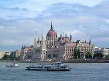 Węgierski parlamentu budynek obraz royalty free