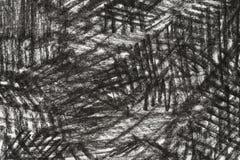 Węgla drzewnego rysunek na papierowym tekstury tle Zdjęcie Stock
