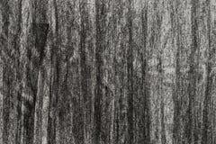Węgla drzewnego rysunek na papierowym tekstury tle Zdjęcia Stock