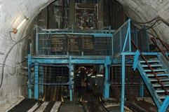 węglowej windy kopalnia Obrazy Royalty Free
