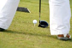 w golfa Zdjęcie Royalty Free