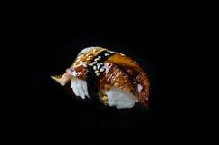 Węgorzowy unagi nigiri Zdjęcie Royalty Free