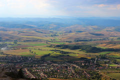 Węgra krajobraz Zdjęcia Royalty Free