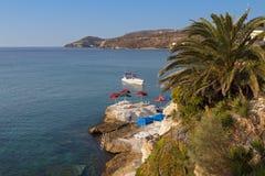 W Grecja Aigina wyspa Zdjęcie Royalty Free
