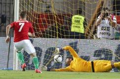 Węgry vs. Holandie ((1): 4) Fotografia Royalty Free