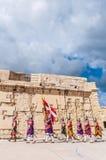 W Guardia paradzie przy St Jonh kawalerami w Birgu, Malta Obraz Royalty Free