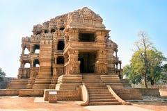 W Gwalior Sasbahu świątynie, Madhya Pradesh, India fotografia royalty free