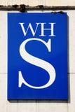 W H Smiths logo sign Stock Photo