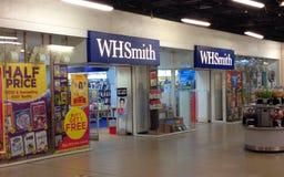 W H Smiths newsagents. stock photos