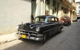 W Havana klasyczny amerykański samochód Fotografia Royalty Free