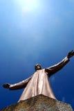 w Hiszpanii, kościół tibidabo Obrazy Stock