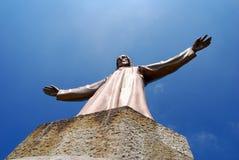 w Hiszpanii, kościół tibidabo Zdjęcia Royalty Free