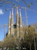 w Hiszpanii Sagrada familia Zdjęcia Royalty Free