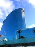 W hotel - Barcelona obraz stock