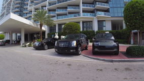 W-Hotel-Miami Beach stock video