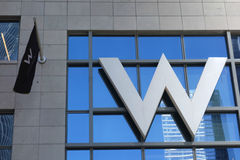 W Hotels Stock Image