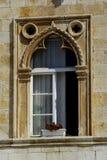 W Hvar stary okno, Chorwacja Zdjęcie Royalty Free