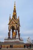 W Hyde Parku Książe Albert pomnik Zdjęcie Royalty Free