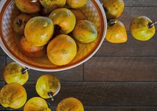 W i out ceramiczny naczynie dojrzała brzoskwini owoc obraz royalty free