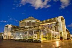 W Itchimbia parku Cristal pałac, Quito, Ekwador zdjęcia stock