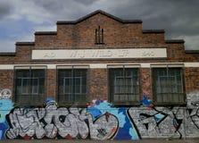 W J Construção selvagem, Digbeth, Birmingham, Inglaterra Fotografia de Stock Royalty Free