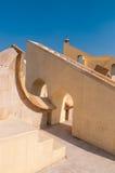 W Jaipur Jantar obserwatorium Mantar Fotografia Royalty Free