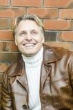 w jego forties blondynu przystojny dojrzały mężczyzna Zdjęcie Stock