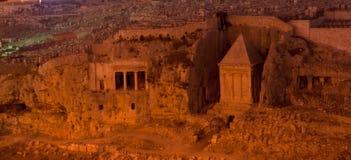 W Jerusalem antyczny zabytek fotografia royalty free