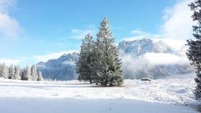 W Juliańskich alps TARGET665_0_ ścieżka Obrazy Royalty Free