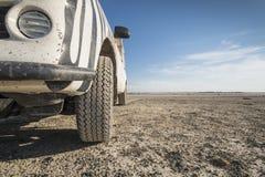 4, 4 w Kalahari pustyni x Zdjęcie Stock