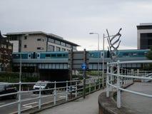 W-kanalhamnplats Royaltyfria Bilder