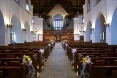 w kaplicy ślub Obrazy Royalty Free