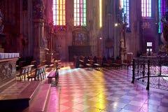 W katedrze Świątobliwy Stephen obraz royalty free