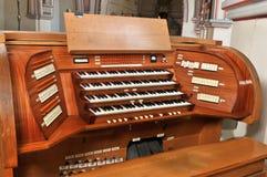W Katedrze fajczany organ Obraz Royalty Free