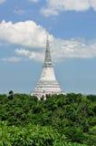 W Khao Pałac Królewski biały Pagoda Wang zdjęcia royalty free