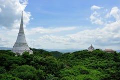 W Khao Pałac Królewski biały Pagoda Wang obrazy royalty free