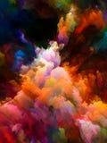 W kierunku Cyfrowych kolorów Obrazy Stock