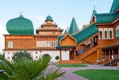 W Kolomenskoye drewniany pałac Fotografia Royalty Free