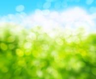 w kontekście niebieskie chmury odpowiadają trawy zielone niebo białe wispy natury Obrazy Stock