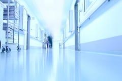 W korytarzu nowożytny szpital obraz stock