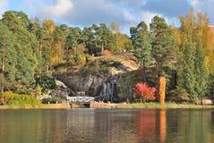 W Kotka parkowy Sapokka, Finlandia Obrazy Stock