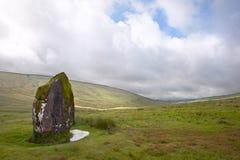 W krajobrazie prehistoryczny anicent kamień Obrazy Stock