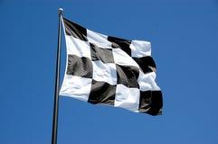 w kratkę flaga obraz stock